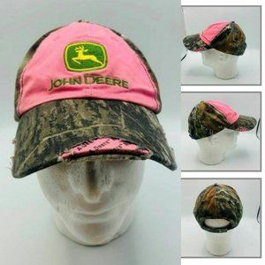 John Deere Women's Baseball Cap Adjustable Hat